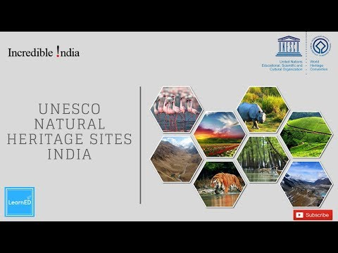 UNESCO Natural Heritage Sites - India | General Awareness | LearnED