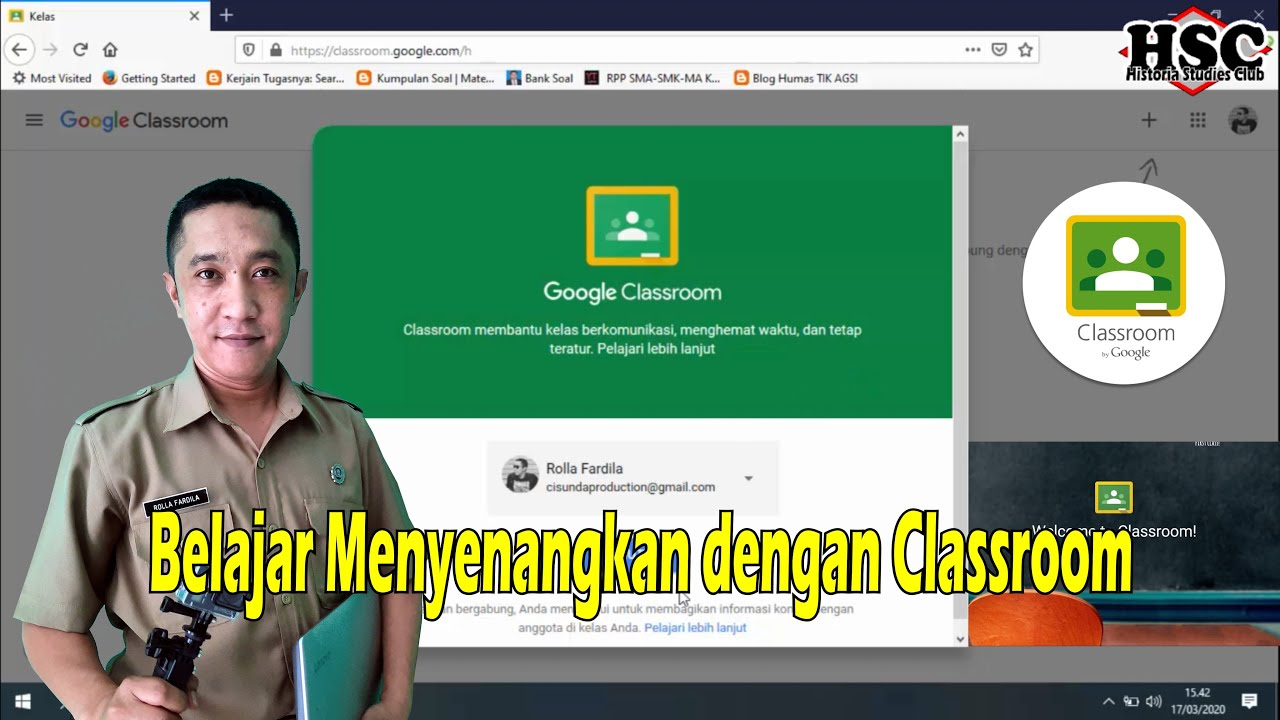 tutorial google classroom untuk guru dan siswa