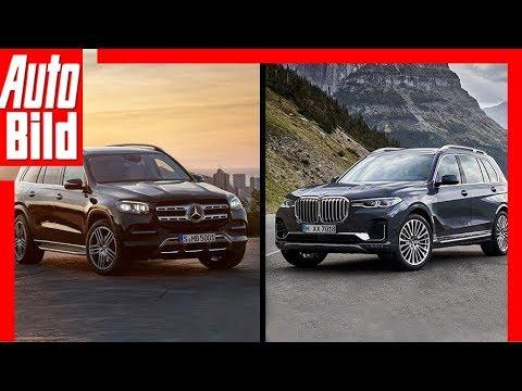 Mercedes GLS vs. BMW X7 (2019): Test - Vergleich - Infos - SUV - Preise