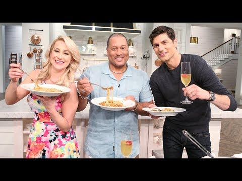 Pat Neely's BBQ Pork Spaghetti! - Pickler & Ben - YouTube