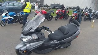 2016 Suzuki 650 Burgman Review from Argyll Motorsports Suzuki Demo Day.