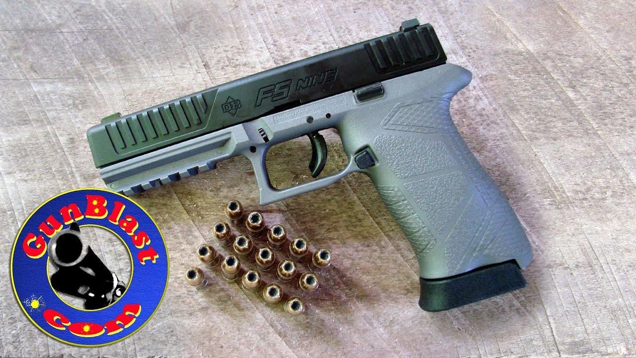 Shooting the Diamondback DBFS Nine 9mm Semi-Automatic Pistol ...