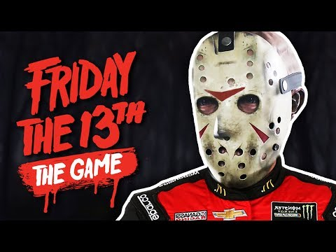 DRAG RACING JASON! | Friday The 13th: The Game (ft. Gorilla & Dracula)