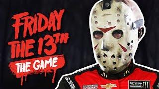 DRAG RACING JASON! | Friday The 13th: The Game (ft. Gorilla & Dracula)