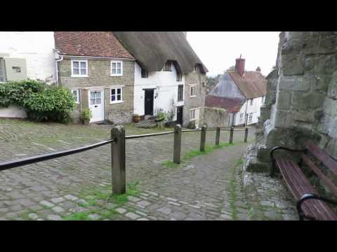 Gold Hill in Shaftesbury  Wiltshire
