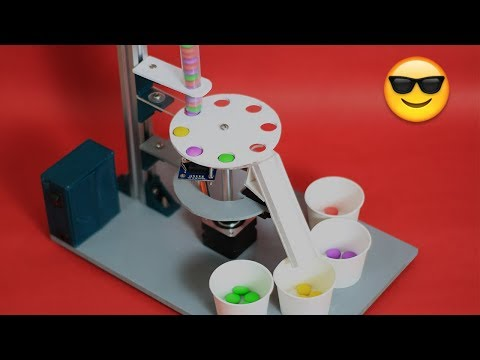 How to make colour sorting Machine using Arduino