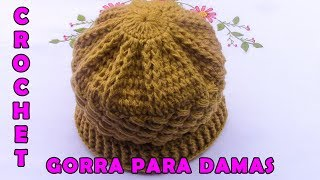 Video Gorro A Crochet Para Mujer🌹 download MP3, 3GP, MP4, WEBM, AVI, FLV Maret 2018