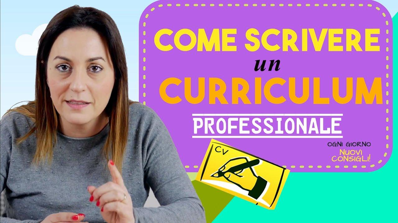E Scrivere Il Curriculum Per Ottenere Un Colloquio Di Lavoro