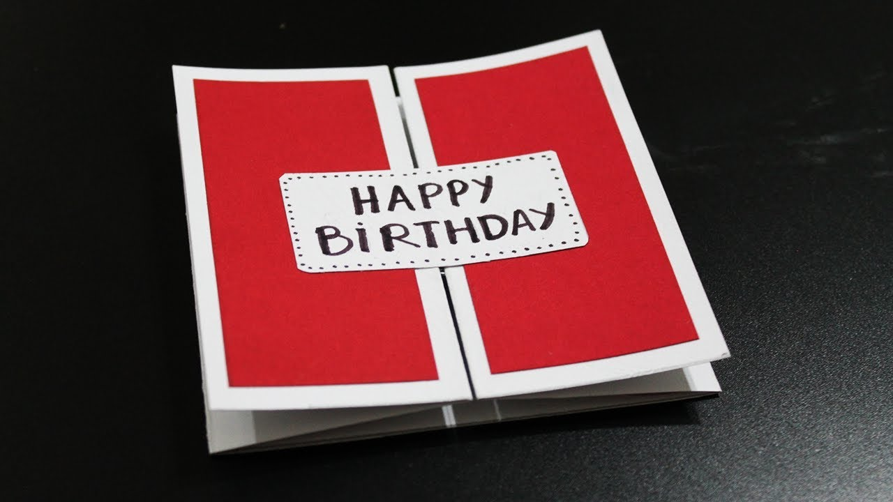 How To Make Birthday Card For Husband