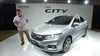 2017 Honda City facelift - quick preview walk-around