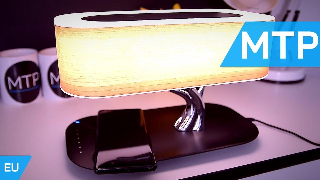 4smarts Smart Bonsai Qi Led Lamp Bluetooth Speaker