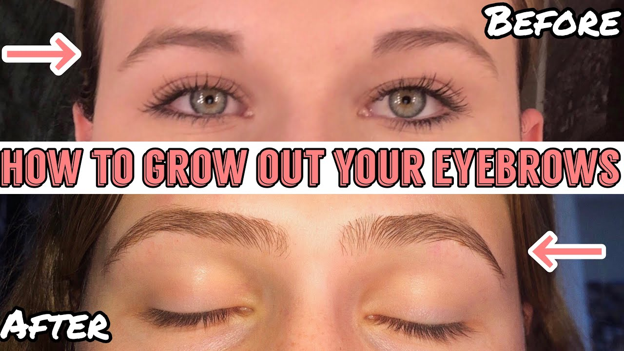 HOW TO GROW OUT YOUR EYEBROWS FAST | TIPS & TRICKS - YouTube