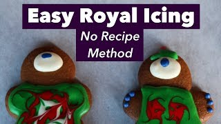 How to Make Royal Icing (No Recipe Method)