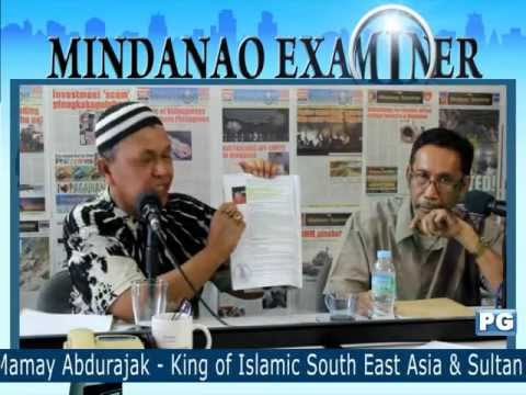 Mindanao Examiner Tele-Radyo March 27, 2013: Today's Guest - Sultan of Sulu and North Borneo
