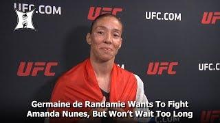 Germaine de Randamie Wants To Fight Amanda Nunes, But Won't Wait Too Long