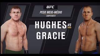 GAME UFC: Matt Hughes x Royce Gracie (Comentários de Rodrigo Minotauro)
