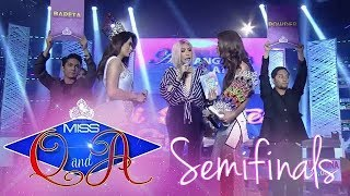 It's Showtime Miss Q & A Semifinals: Pau Bermudez vs. Marigona Dragusha | Di Ba? Teh! Ganern