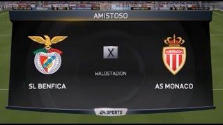 Video Gol Pertandingan AS Monaco vs Benfica