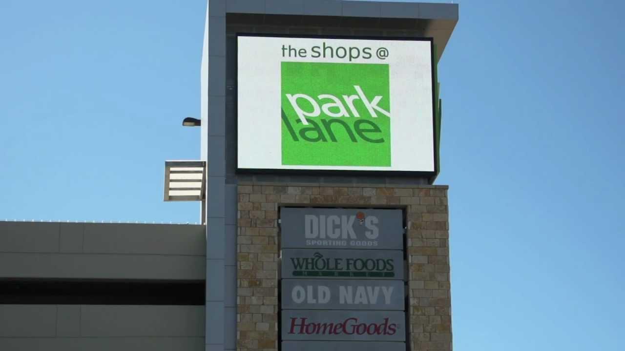 The Shops At Park Lane Digital Displays By Dallas OOH