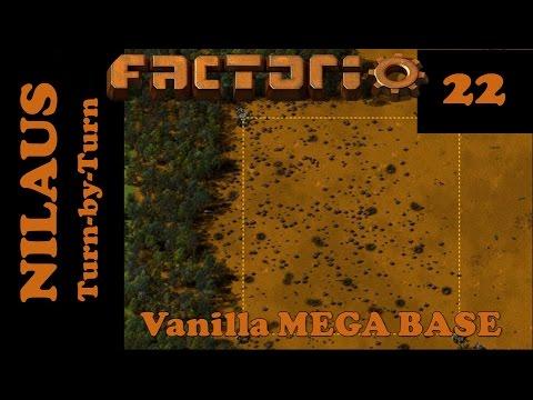 Factorio S7E22 - Train track setup for MEGA BASE - Most