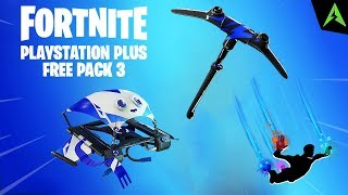 NEW * FREE * PACKAGE FOR PS PLUS IN FORTNITE..