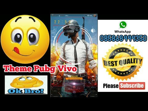 Theme Pubg Vivo 2018