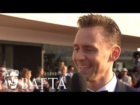 Tom Hiddleston Red Carpet   BAFTA TV Awards 2016