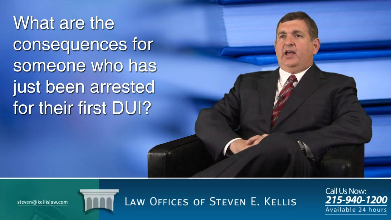 Penalties for 1st, 2nd and 3rd DUI in Pennsylvania | Steven