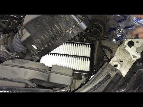 Mazda 6 gj замена воздушного и салонного фильтра
