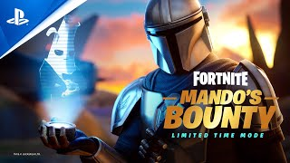 Fortnite - Mando's Bounty Limited Time Mode   PS5, PS4