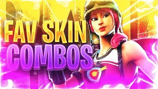 MEU * FAVORITO * FORTNITE SKIN COMBOS!!