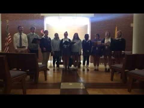 """Father Ryan High School Singers Perform """"Redeemer"""" in the Father Ryan Chapel"""
