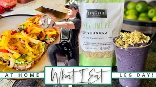 Impromptu Vegan What I Eat In A Day! | + Workout with Friends! | #42