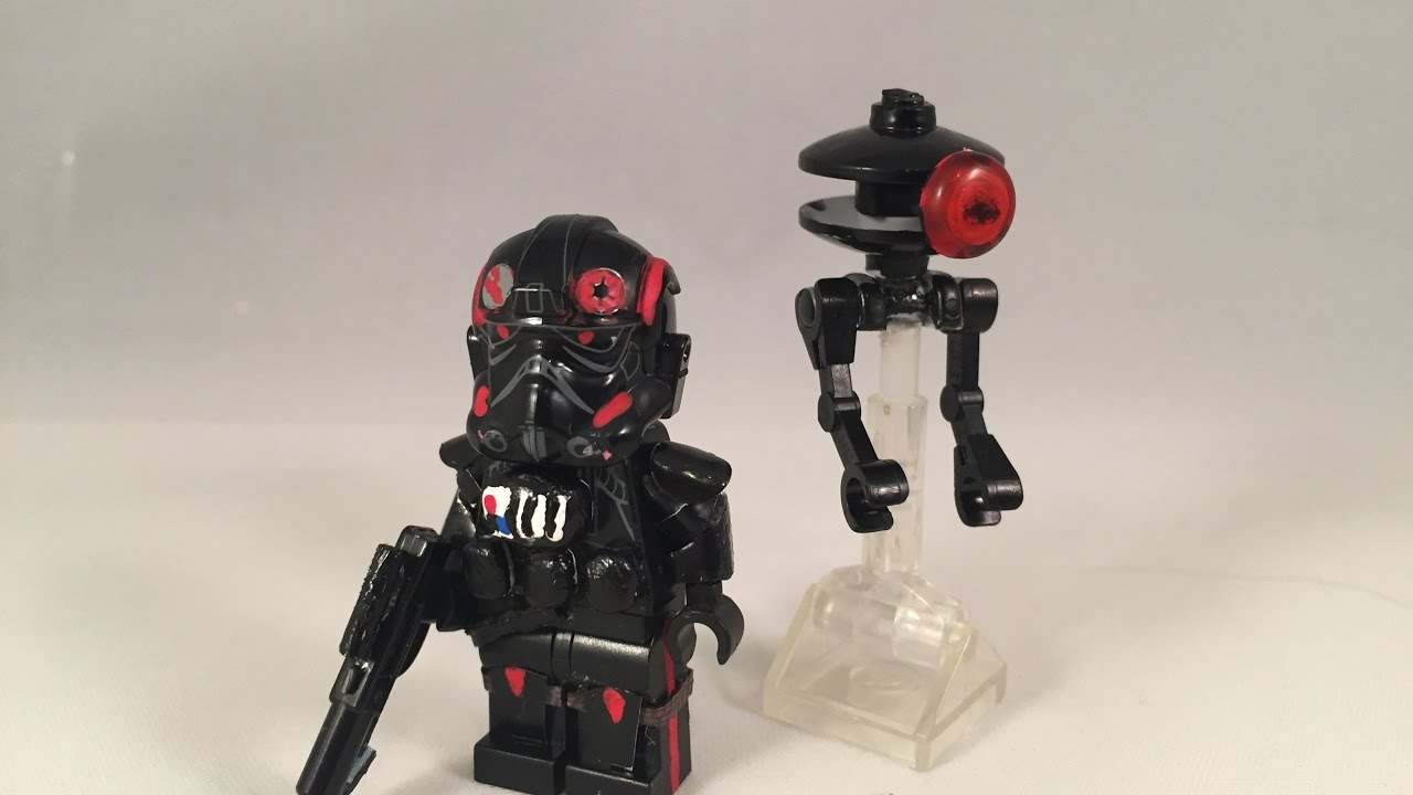 lego star wars battlefront 2 iden versio custom minifigure with id 9 droid youtube. Black Bedroom Furniture Sets. Home Design Ideas