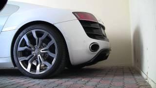 Audi R8 V10 Start Up Stock Exhaust