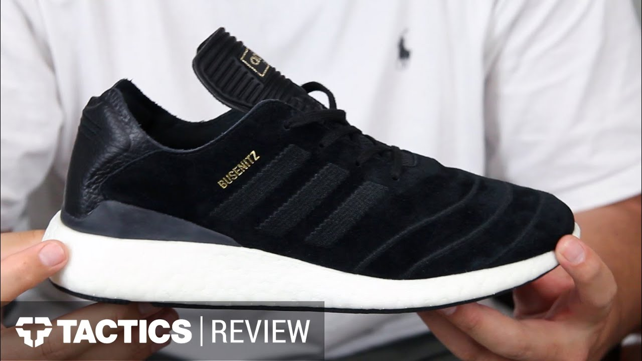 a919b95977edf Adidas Busenitz Pure Boost Shoes Review - Tactics.com - YouTube
