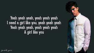 Alex Aiono - Girls Like You, One Kiss, & Forever Young (Lyrics)