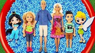 Learn Characters with Disney Princess, Barbie, Aladin Jasmin, Trolls, Frozen Elsa