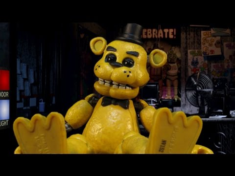 FIVE NIGHTS AT FREDDYS GOLDEN FREDDY ACTION FIGURE