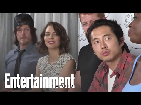 The Walking Dead' Cast Teases New Season & Talks Fans | Entertainment Weekly
