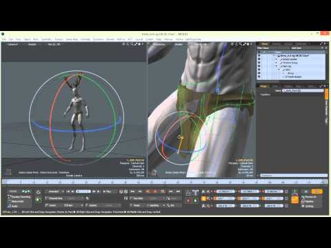 Mythical Character Creation in Modo: Part 6-6