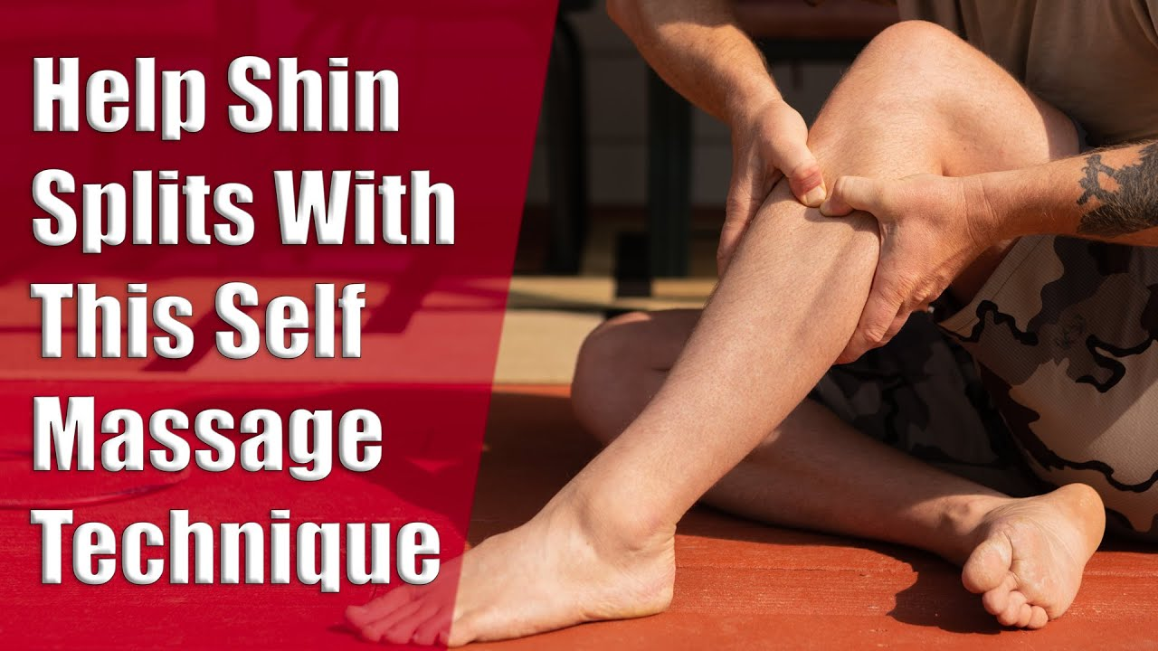 Ease Shin Splints With Tibialis Anterior Self Massage Youtube
