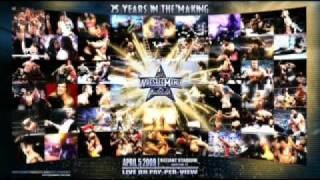 Wrestlemania 25 1# Theme Song AC DC Shoot To Thrill HQ