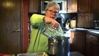 Making Homemade Chicken Stock