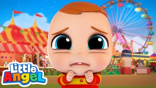 Where's Mommy & Daddy? I'm Lost! | Little Angel Kids Songs & Nursery Rhymes