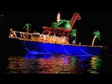 2017 Parade of Lights boat parade in San Diego Bay (12/10/17)