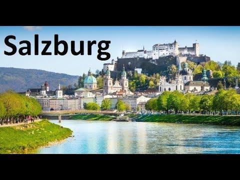 Salzburg (Зальцбург) из окна автомобиля