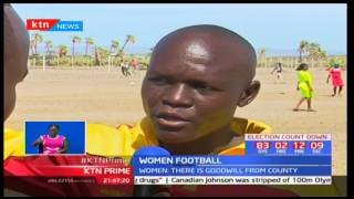women football has been sidelined for a long time but now fkf hope to revive football centres