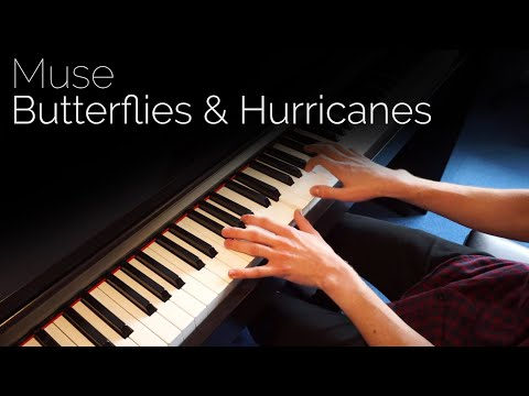 Muse - Butterflies and Hurricanes - Piano cover [HD]