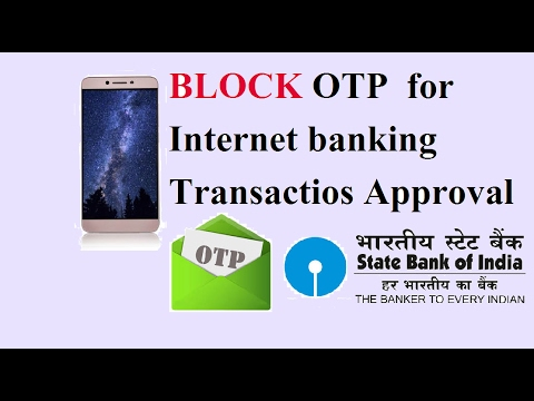 How to Disable OTP for Internet banking transaction online
